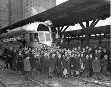 Joe Karas, The Silver Hill Boys and the Secret Railroad Club, Silver Hill Boys, Flying Yankee