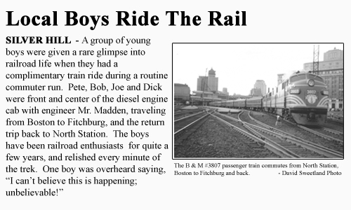 The Silver Hill Boys and the Secret Railroad Club, Joe Karas, Silver Hill, Secret Railroad Club