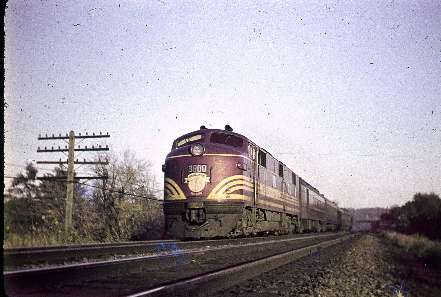Boston  U0026 Maine 3800